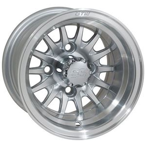 Picture of GTW Medusa 10x7 Machined Silver Wheel
