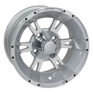 Picture of 19-160 GTW Yellow Jacket 12x7 Machined Silver Wheel