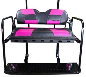Picture of K01-016-164 Genesis150 DS w/ RIPTIDE Black/Pink Cushion Set