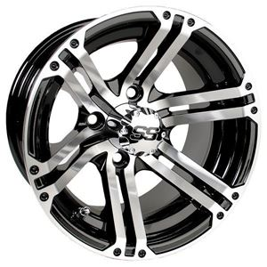 Picture of 19-149 GTW Specter 10x7 Machined Black Wheel