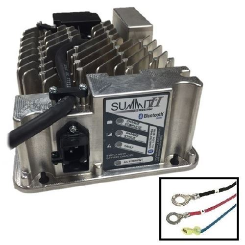 Picture of 3721 Lester Summit Series II Battery Charger 650W 36/48V, 5/16-in Ring Terminals with QD Lockout, 6 Ft.