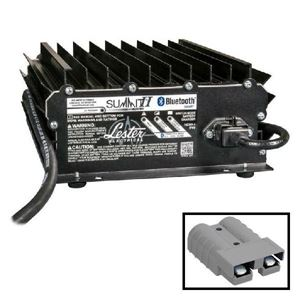 Picture of 3734 Lester Summit Series II Battery Charger - 1050W 24/36/48V With Gray SB50 Plug With 8.5 Ft. DC Cord