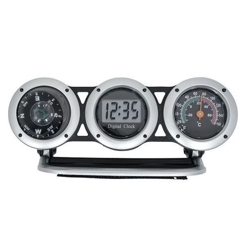 Picture of 03-131 Bell Clock/Compass /Thermometer Combo