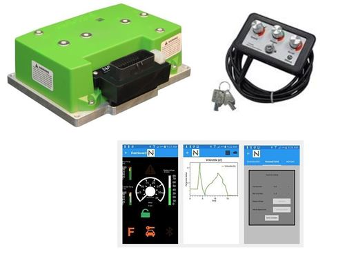 Picture of 600 amp Navitas TAC2  Ezgo RXV® 23 48V (DANAHER®) Controller Upgrade Kit Free Shipping
