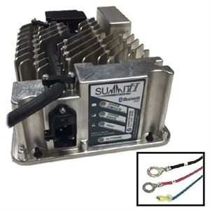 Picture of 3720  Lester Summit Series II Battery Charger 650W 36/48V, 5/16-in Ring Terminals with QD Lockout, 3 Ft.