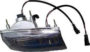 Picture of 2LT541 Headlight (Passenger Side / Right Hand) (black plugs) for 2009 up StarEV Classic