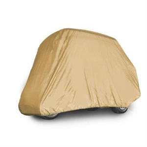 """Picture of Red Dot Cart Cover for 4 Passenger w/ 54"""" Top Tan"""