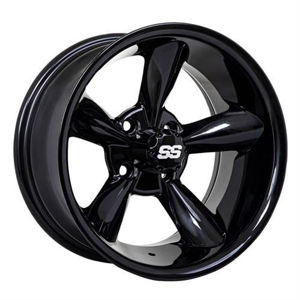 "Picture of 19-242 14"" GTW Godfather Wheel - Black"