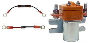 Picture of SL-200-48-kit Solenoid 200A  48V with Diode & Pre-charge Resistor Free Shipping