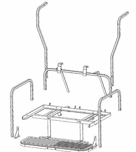 Picture of 01-160 GTW MACH3 Flip Frame Only Club Car DS