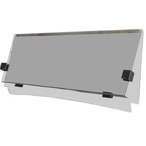 Picture of OEM Windshield - 2WS080 Flip Tinted OEM Windshield for STAR EV Classic without hardware