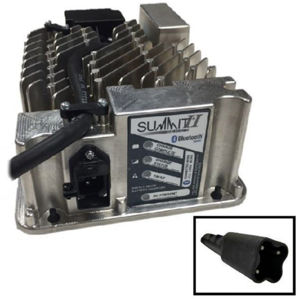 Picture of 3702 Lester Summit Series II Battery Charger 650W 36/48V With Yamaha G29 Drive &  Drive 2 3-Pin Plug With 8.5 Ft. DC Cord