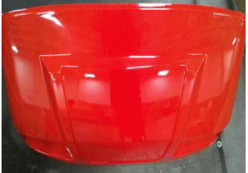Picture of 2BO102 Front Body - FIRE RED for StarEV Classic (2008 to present)